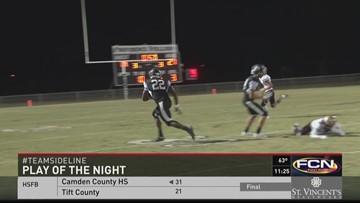 Sideline 2015 Week 8 Play of the Night