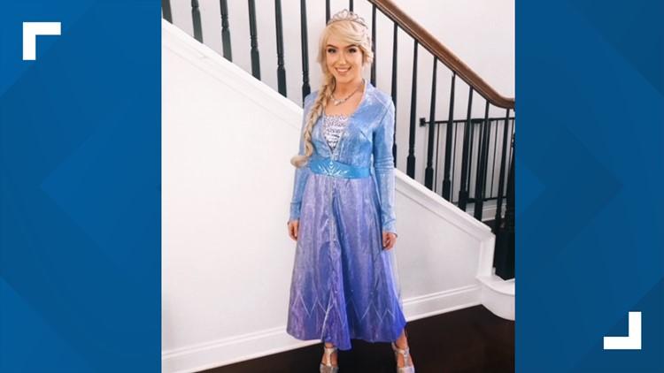12 Who Care: Sydney Sheffield lifts kids' spirits as 'Elsa'