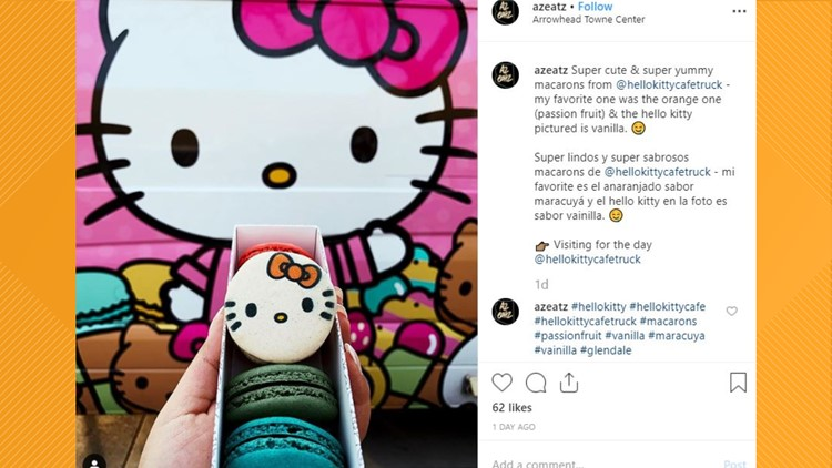The Hello Kitty Cafe Truck is returning to Jacksonville