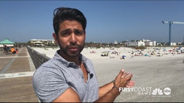Near-record temps bring heatstroke dangers to beachgoers