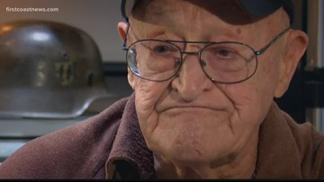 D-DAY veteran recalls his job on Omaha Beach
