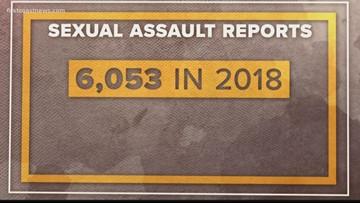 Broken Trust: Sexual assault numbers increasing in military