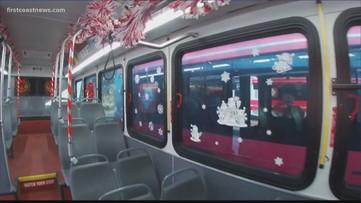JTA driver brings holiday cheer to bus riders this holiday season