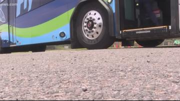 15-year-old injured after allegedly getting foot trapped in JTA bus door