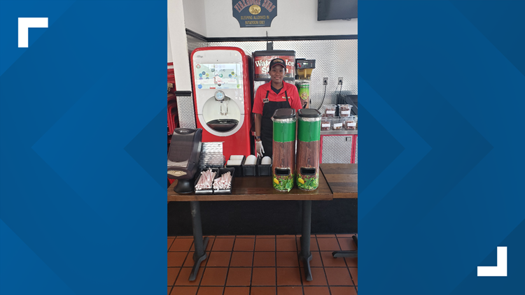 Firehouse Subs now has employees dispensing drinks