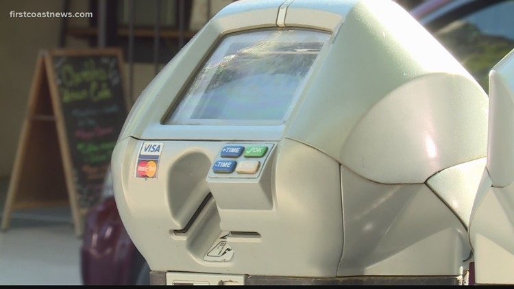 Parking meter rate quadruples in downtown Jacksonville