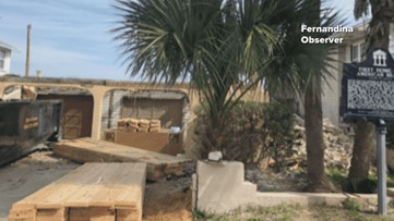 Report: Historic American Beach home demolished in Fernandina Beach