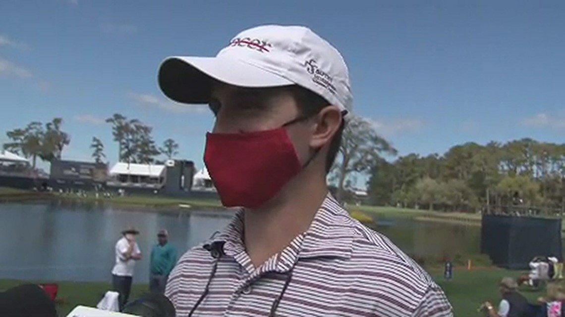 WATCH: Justin Thomas surprises cancer patient at The Players Championship