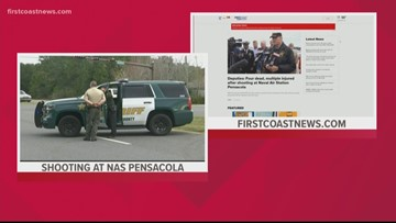 Active shooter incident at NAS Pensacola leaves 4 people dead, multiple injured