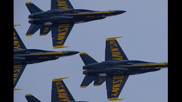 NAS Jacksonville Air Show announces Blue Angel flying times