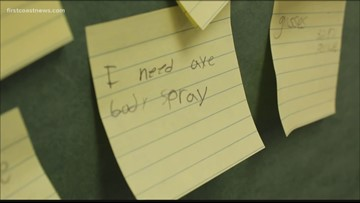 Clay County teacher making a difference by helping students with 'needs board'