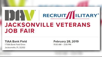 Thousands of jobs up for grabs at the Veterans Job Fair on Thursday