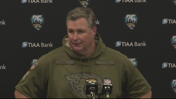 Doug Marrone following the Colts victory