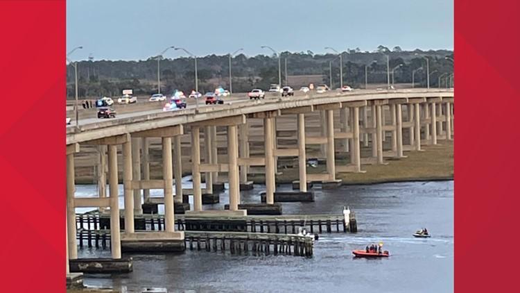 Large police presence reported on JTB Intracoastal bridge Monday