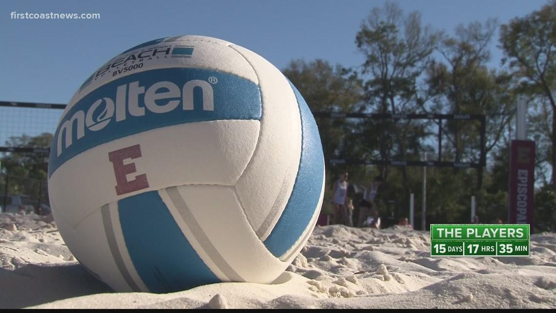 Episcopal debuts new beach volleyball court, team