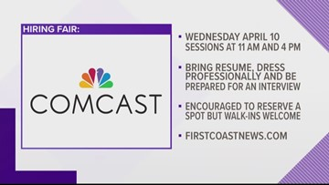 Comcast to hold job fair in Jacksonville
