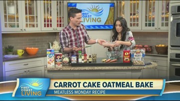 Meatless Monday: Carrot Cake Oatmeal Bake (FCL Feb. 18)