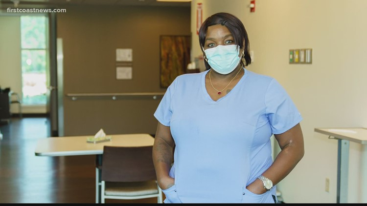 Superheroes in Scrubs: Woman with a big heart helps keep spirits up at Brooks Rehab