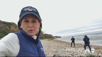 Jeannie says goodbye to Normandy, but not to the memories