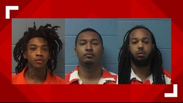 Mugshots released of 3 men arrested in deadly Waycross hotel shooting involving Yungeen Ace