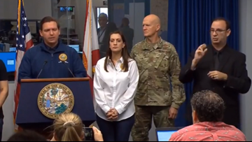 Gov. DeSantis: 'We all did the right thing to take this storm very seriously'