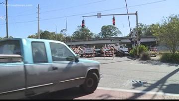 Edgewood Avenue railroad crossing closed for repairs until next week