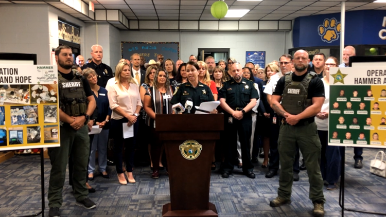 Hammer and Hope offers free drug treatment services Friday after Clay County sheriff announces 44 arrests