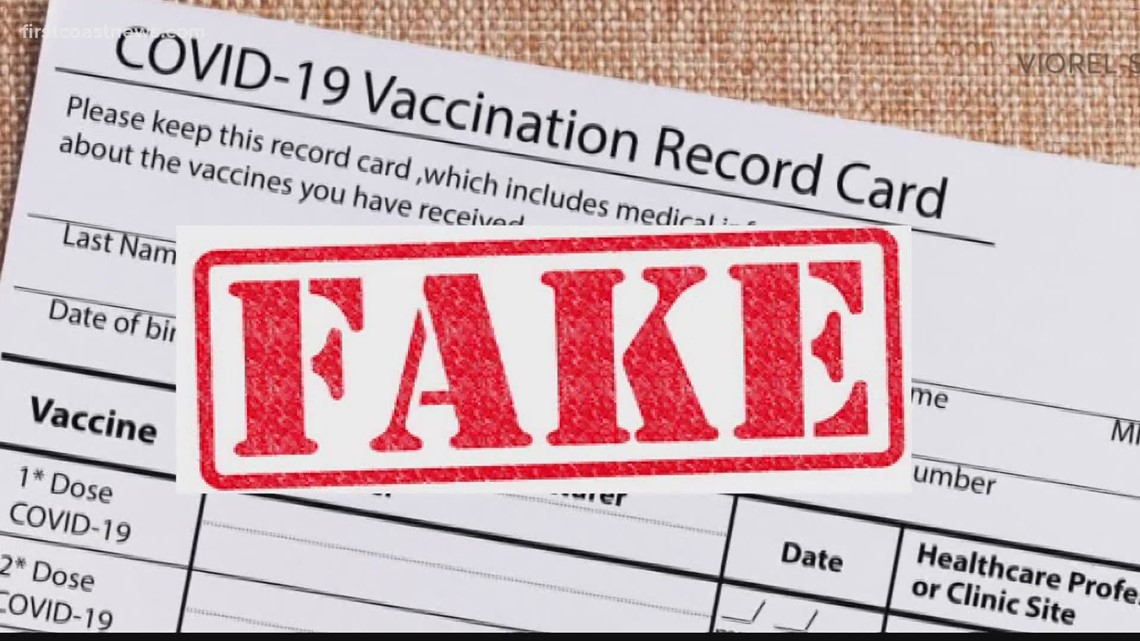 FBI warns about buying, selling fake CDC vaccine cards | firstcoastnews.com