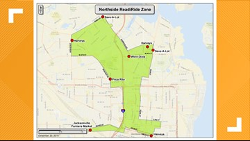 City of Jacksonville, JTA launch 'Door to Store' program to give Northside residents free transportation to grocery stores