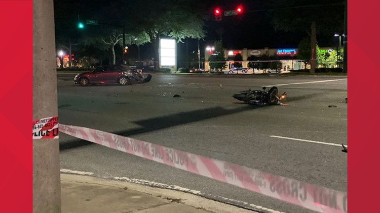 Motorcyclist in life-threatening condition after crash on San Jose Boulevard in Mandarin