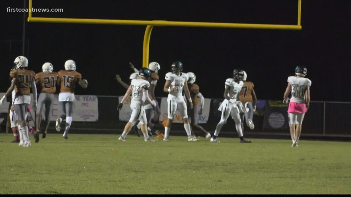 Watch Friday night high school football highlights from games across the First Coast