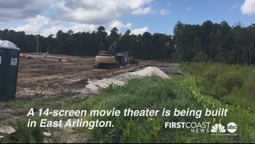 New Jacksonville movie theater under construction
