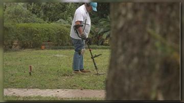 Jacksonville treasure hunter unearths memories of the past