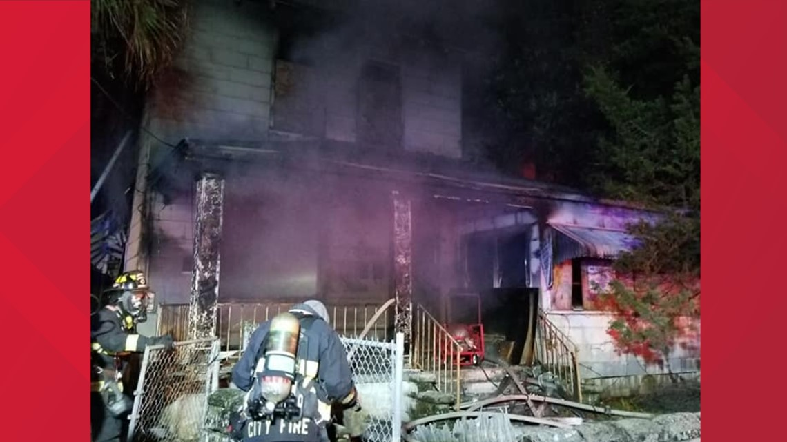 St. Augustine house becomes engulfed in flames near St. Cyprian's Episcopal Church