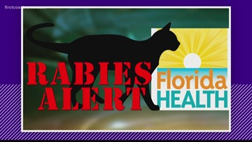Rabies alert issued for parts of Baker County