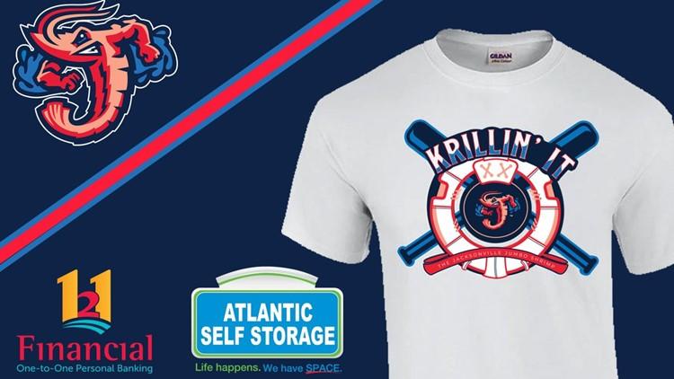 WINNER: Jumbo Shrimp release the winning design for its fan designed T-shirt competition