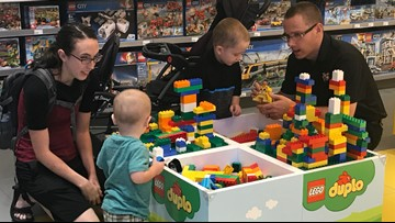 Embrace your inner child at the new Jacksonville LEGO store