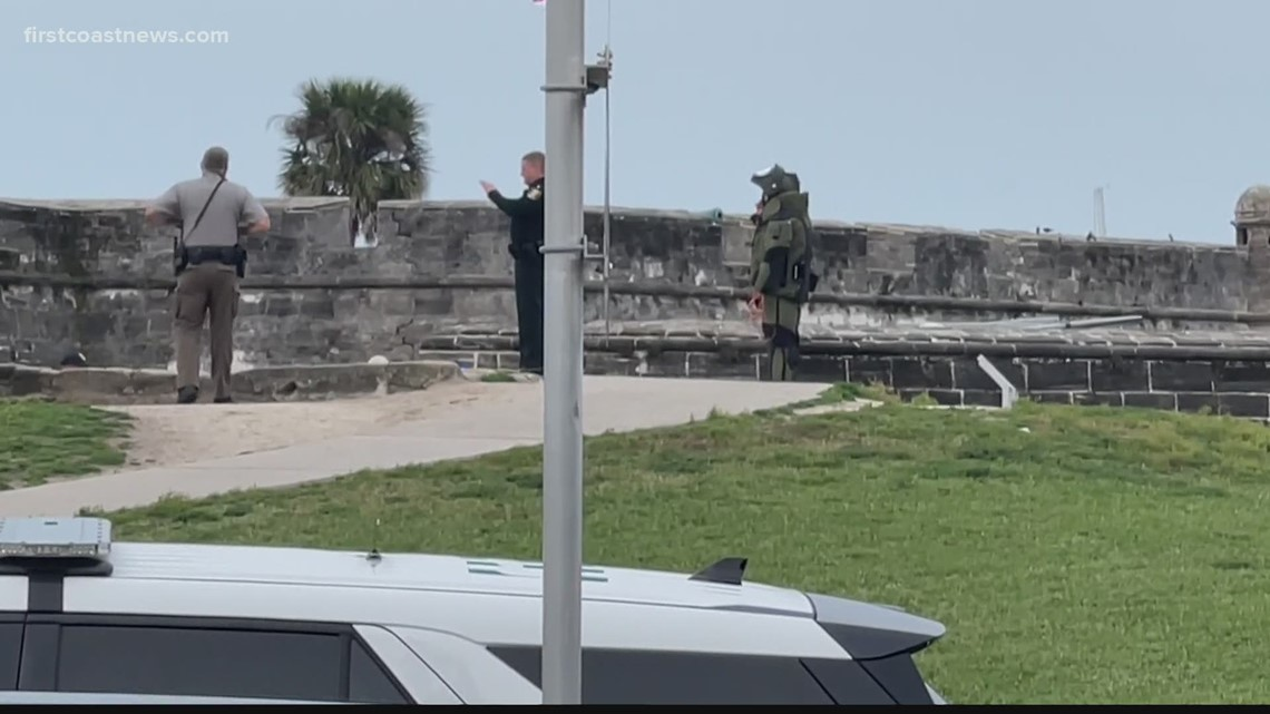 All clear given after suspicious package found at St. Augustine fort