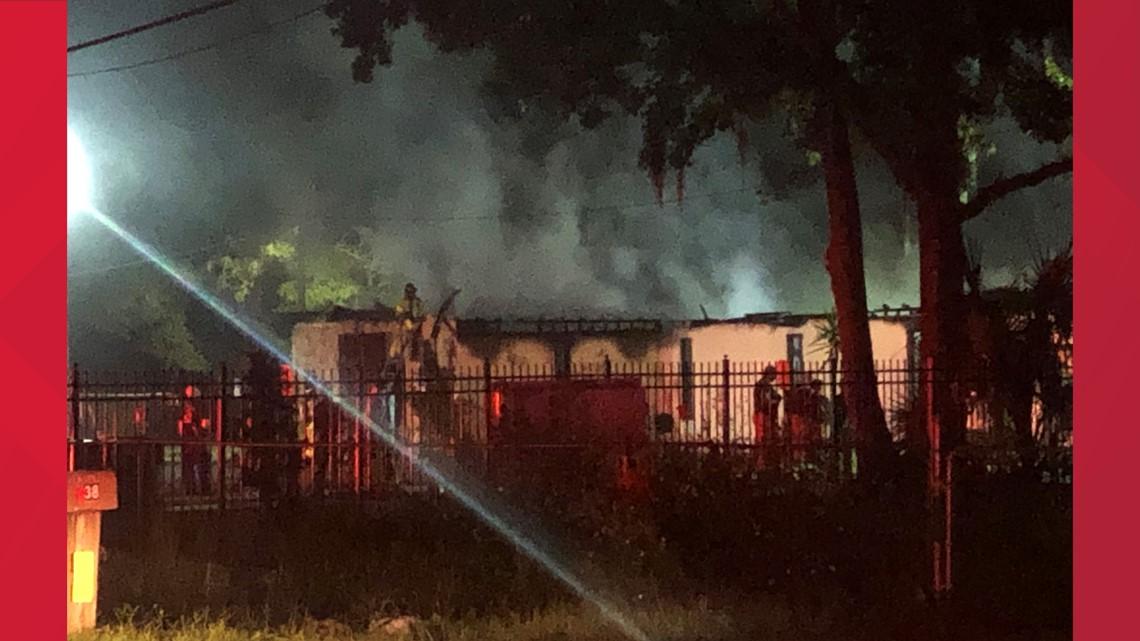 Fire destroys North Jacksonville church