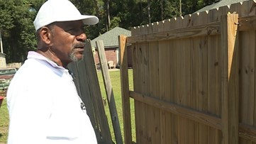 ON YOUR SIDE | Homeowner complains fence contractor failed to finish the job