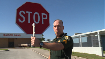 Clay County Sheriff's public service aides help with school district's crossing guard shortage