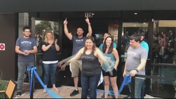The grand opening of Legacy Ale Works in Bartram Springs