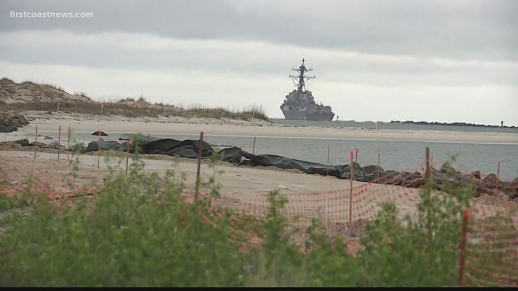 Naval Station Mayport holds hurricane preparedness exercise