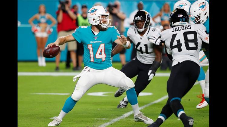 Josh Allen shines in Jaguars' preseason loss to Dolphins