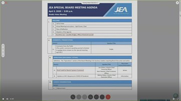 JEA board approves fuel charge credit for customers due to COVID-19