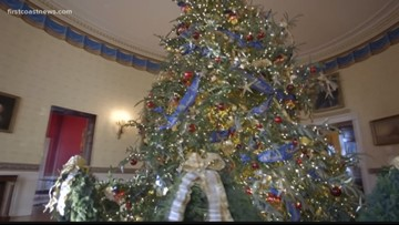 Jacksonville man gets once in a lifetime opportunity to decorate the White House for the holidays