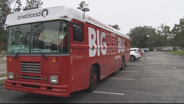 Blood donations needed after OneBlood rushes to aid NAS Pensacola shooting victims