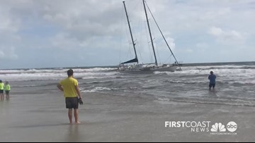 More than $1,500 worth of items stolen from boat that washed ashore in Atlantic Beach