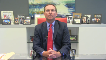 VIDEO: Mayor Lenny Curry makes budget proposal at City Hall