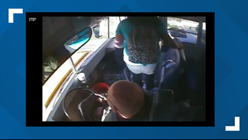 Caught on camera: Driver hits student getting off the school bus in Bradford County